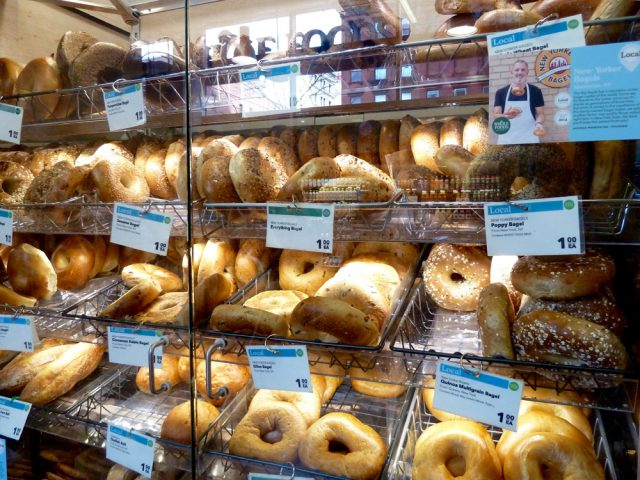 朝食ベーグルのオーダー法 in ニューヨーク