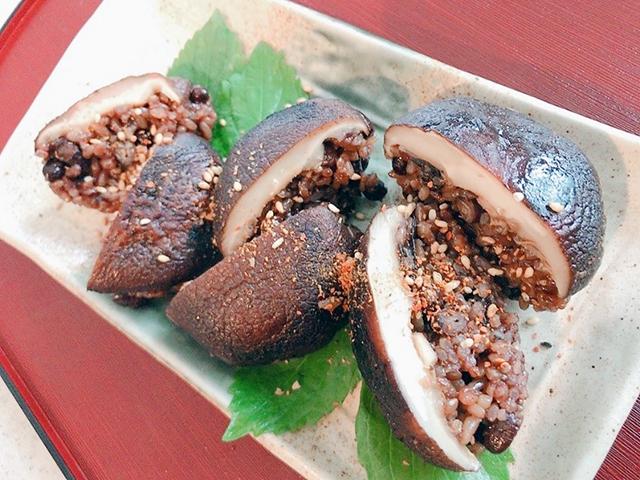 「椎茸おにぎり」│穀雨の二十四節気発酵レシピ