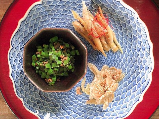 「麹を使った発酵山菜おかず3種」の作り方・レシピ