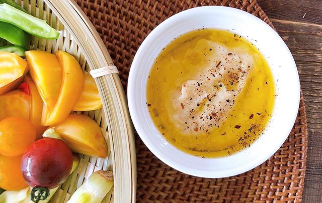 夏野菜と発酵バーニャカウダソース│大暑の二十四節気発酵レシピ