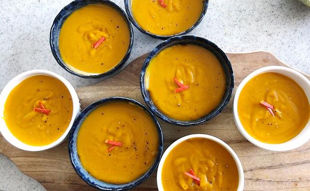 塩麴とココナッツミルクの「発酵かぼちゃプリン」│白露の二十四節気発酵レシピ