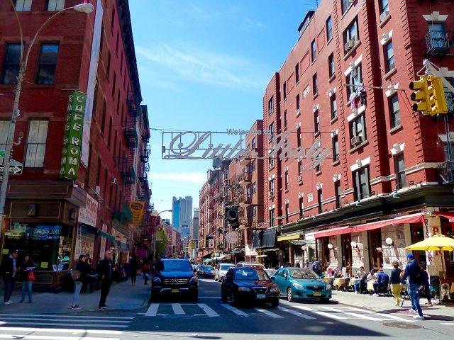 ニューヨークのイタリア人街、リトルイタリー