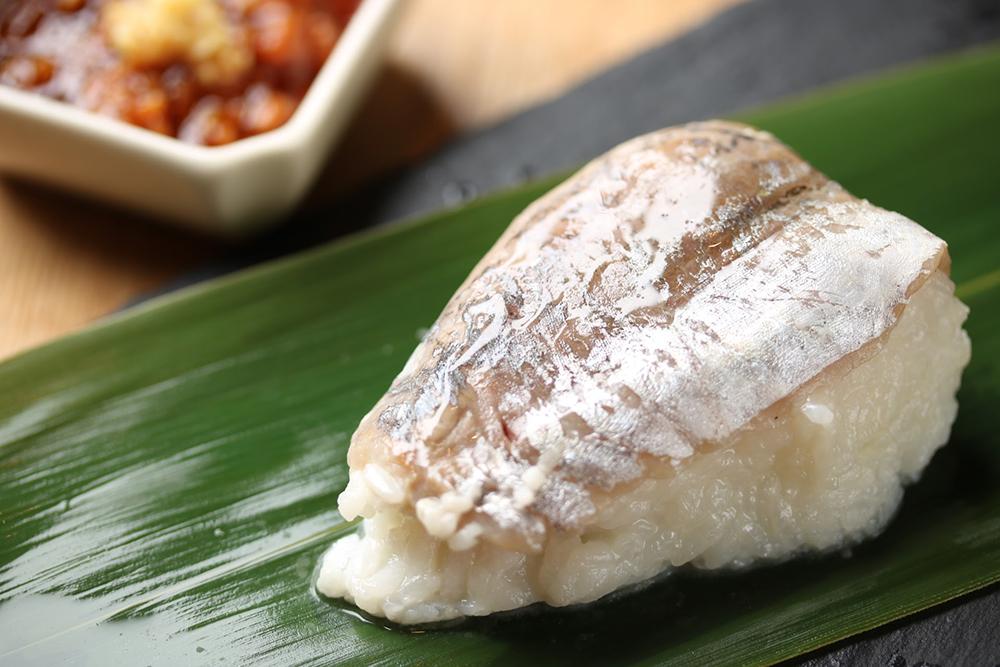 鯵(アジ)のちまき寿司