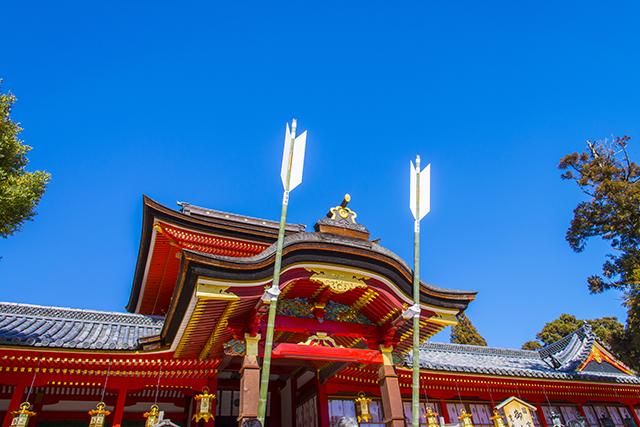 京都府八幡市の男山八幡宮(現在は石清水八幡宮)