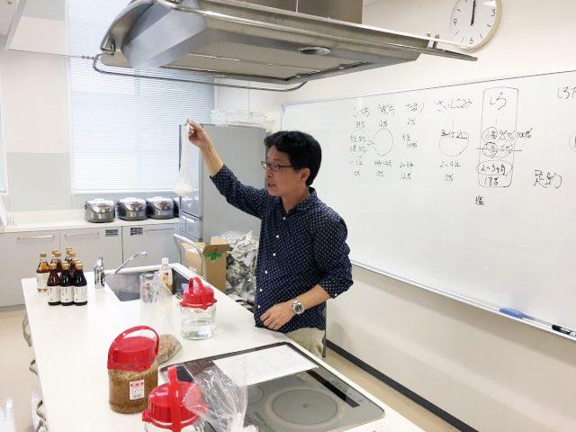 「日東醸造株式会社」代表取締役社長・蜷川洋一さん