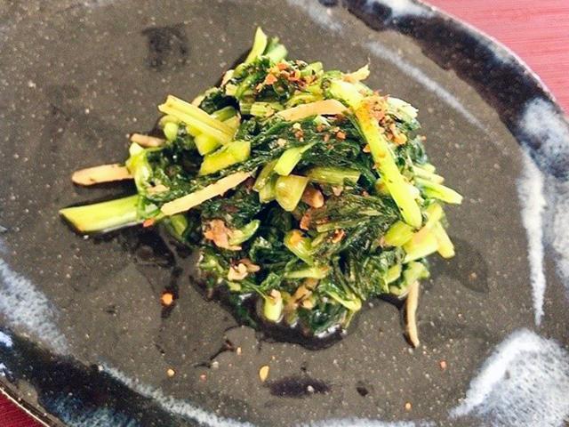 「春菊の醤油麹佃煮」│春分の二十四節気発酵レシピ