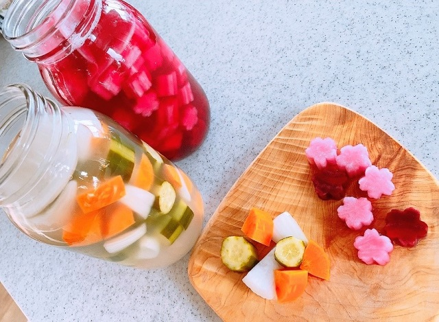 春分の発酵レシピ 塩のみでつくる乳酸発酵ピクルス