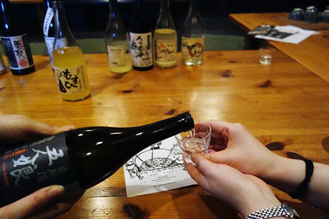 寺田本家の日本酒