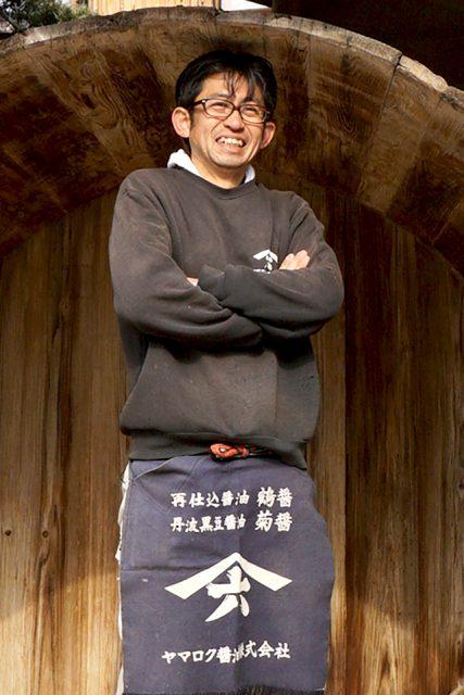 ヤマロク醤油株式会社 五代目 代表取締役 山本康夫さん
