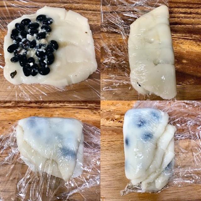 黒豆塩大福の作り方