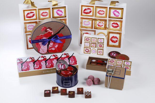 上品でファッショナブルな特製ボックスに収められる新作ボンボンショコラ