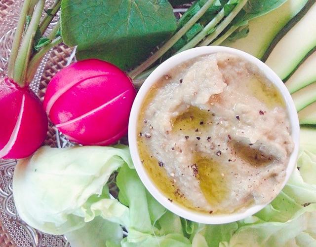 「茄子みそディップ」│穀雨の二十四節気発酵レシピ