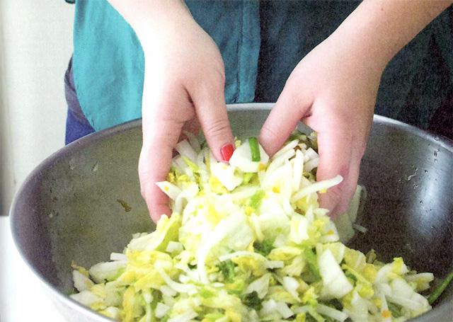 サンダーさんの「キムチレシピ」の作り方