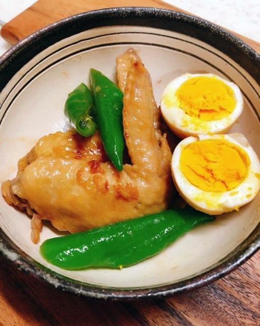 酢麹アレンジレシピ③:「手羽先の酢麹煮」