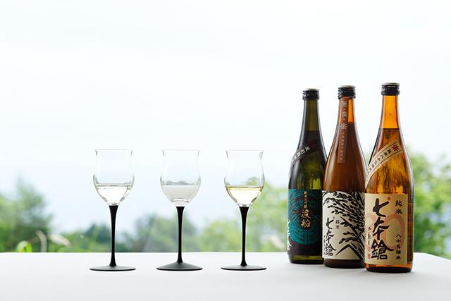 「冨田酒造」とのコラボレーションにより実現したフランス料理と日本酒のペアリング
