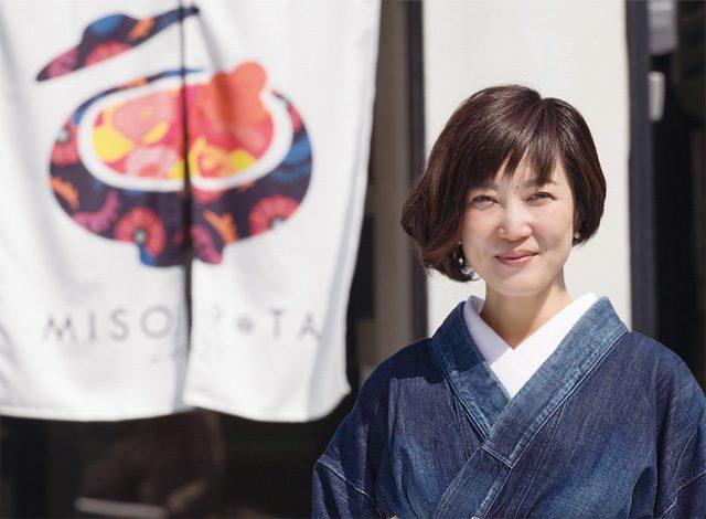 京都の味噌汁ポタージュ専門店『MISO POTA KYOTO(みそポタ京都)』女将、とこみゆきさん