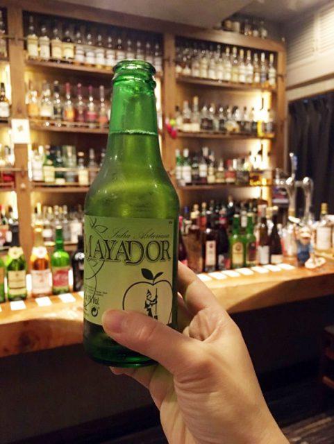 スペインの有名ブランド「マヤドール」のシードル