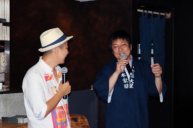 岡村本家さんと発酵居酒屋5の料理長、鈴木大輝さん