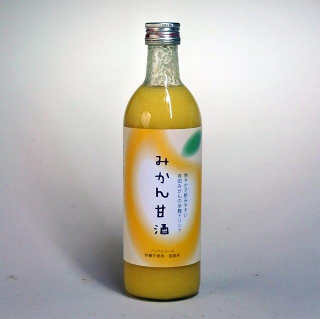 丸新本家「みかん甘酒」1,080円(税込み)