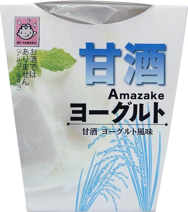 ヤマク食品「ヨーグルト甘酒」185円(税込み)