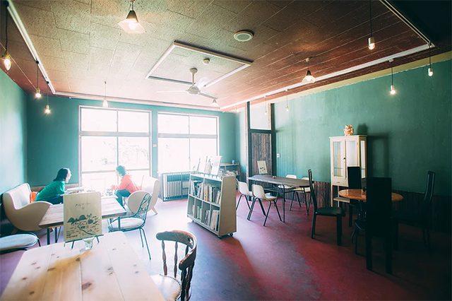 タルマーリーのカフェ