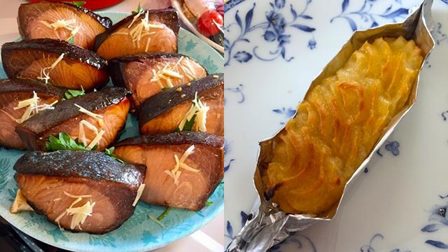 魚の照り焼きやスイートポテトの艶出しに「みりん(味醂)」を