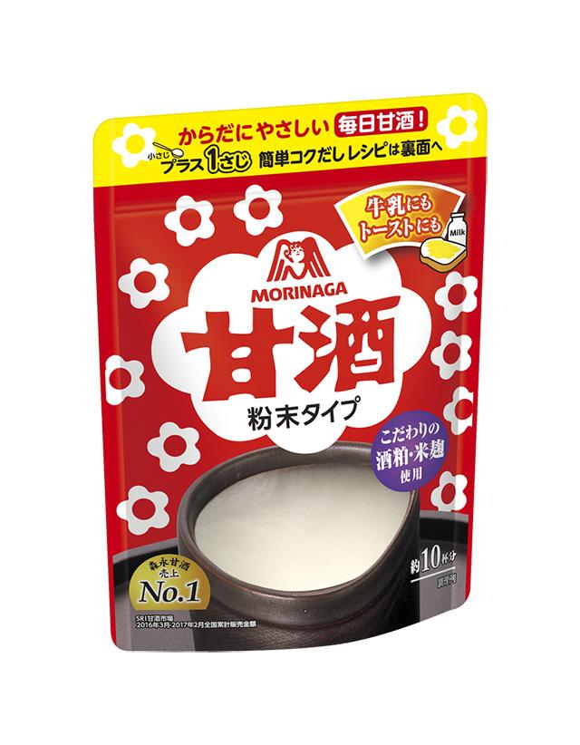 森永製菓「甘酒(粉末タイプ)」 希望小売価格 ¥341(税別)