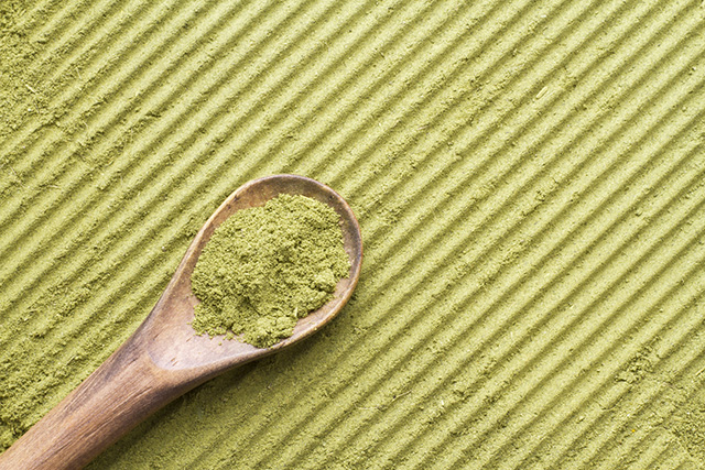 Matcha is becoming quite popular in New York.