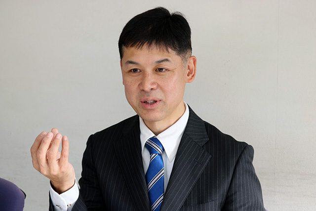 株式会社伊勢惣専務取締役の足立昇司さん