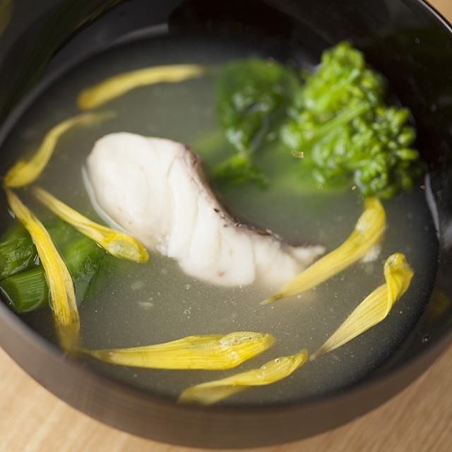 【春分】桜鯛と菜花の菊花あんかけ:発酵ワクワク大使の二十四節季レシピ