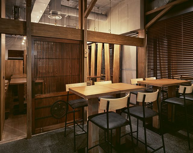 発酵蔵をイメージした古き良き日本の雰囲気を大切にした佇まい