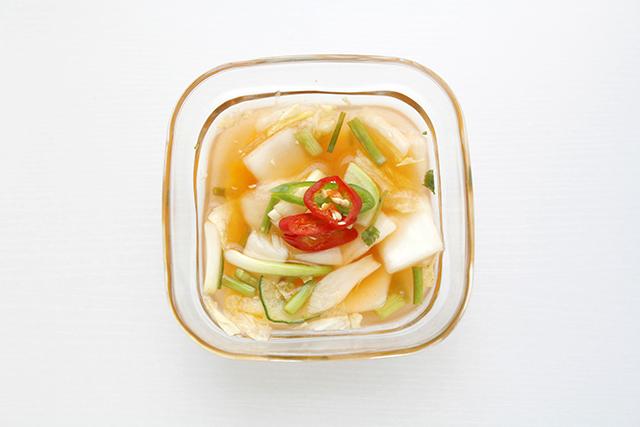 水キムチに合う野菜や果物