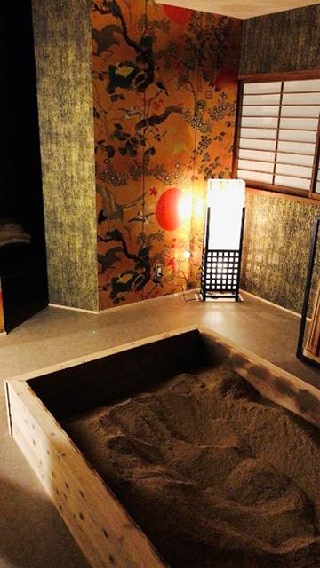完全個室の浴室「ゴールドルーム」