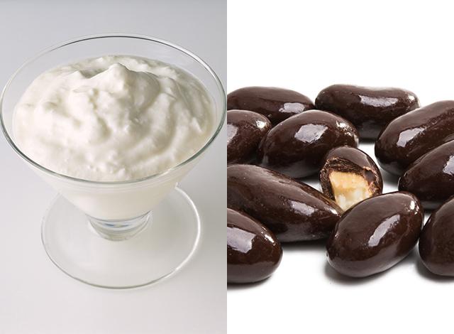ヨーグルト×アーモンドチョコレートの便秘改善効果とは?