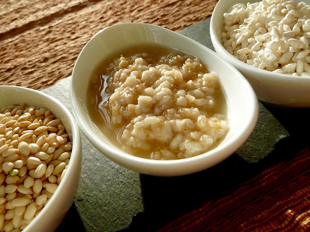 グラノーラ甘酒(玄米、玄米甘酒、米麹)
