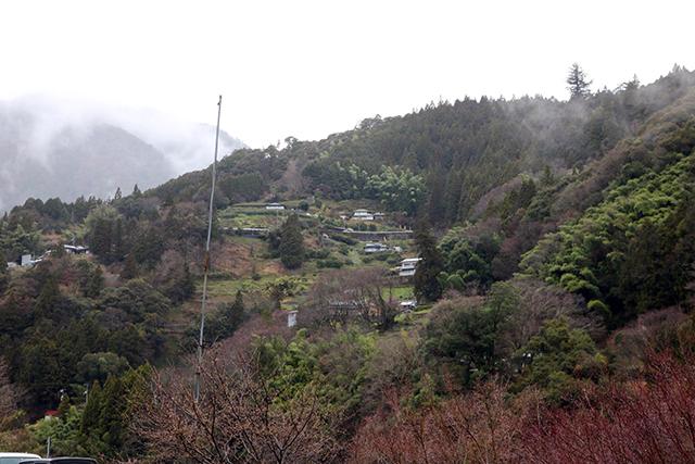 高知県の大豊(おおとよ)町の風景
