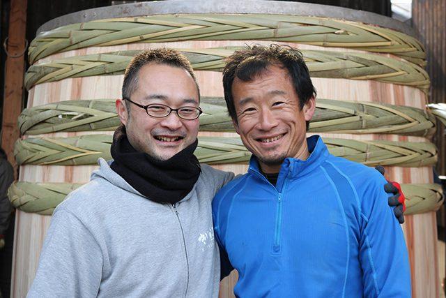 木桶職人復活プロジェクトに参加している、「きしな屋」の岸菜賢一さんと