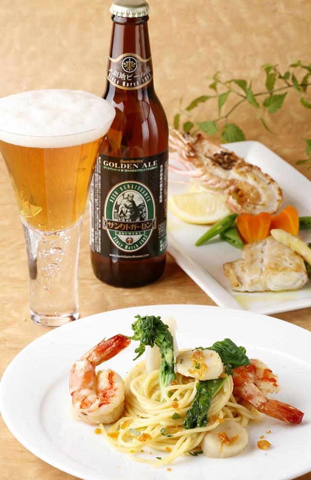 「ペールエールにはシンプルな魚料理」クラフトビールのおいしい合わせ方①