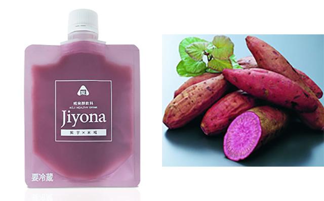 野菜(紫芋)も一緒に発酵をさせた『Jiyona(ジヨナ)』