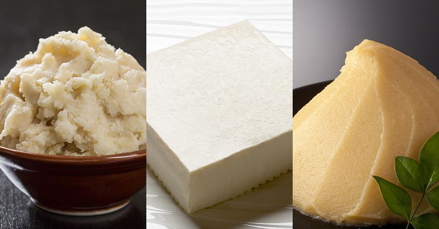 邪気を払うとされる白いもの。白い豆腐と、白みそ、酒粕、塩麹のお椀『立春大吉豆冨』