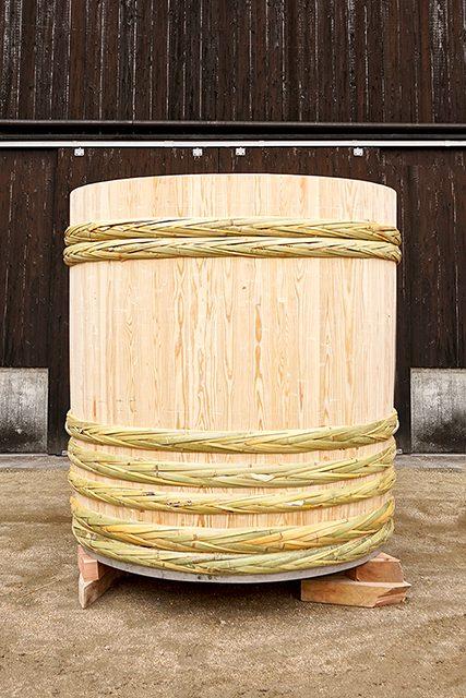木桶職人復活プロジェクトでの新桶完成品