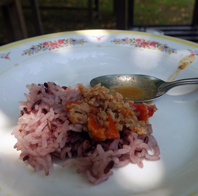 米はさらっとしたタイ米