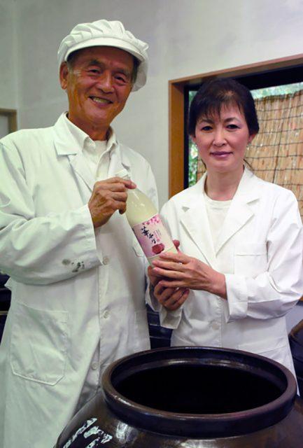 千葉県・芝山町にある、生マッコリのメーカー「芝山醸造」