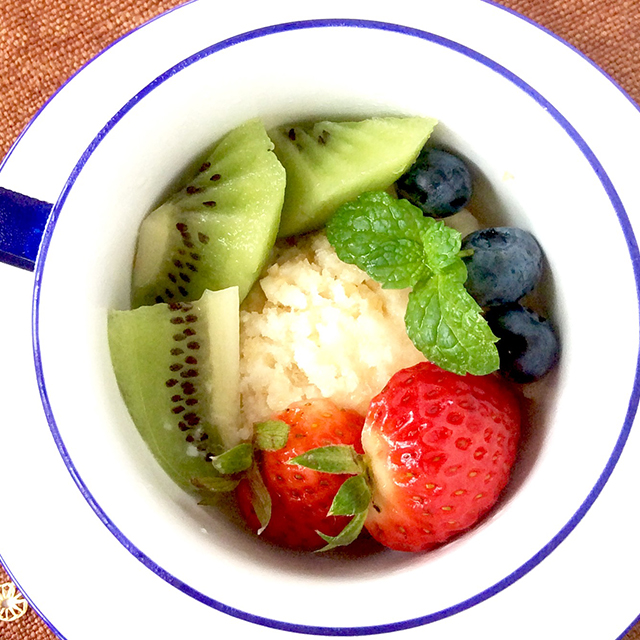 【amazake-sorbet-with-seasonal-fruits】Jay's Hacco-licious Recipes:haccola Japanese fermented foods and cuisine