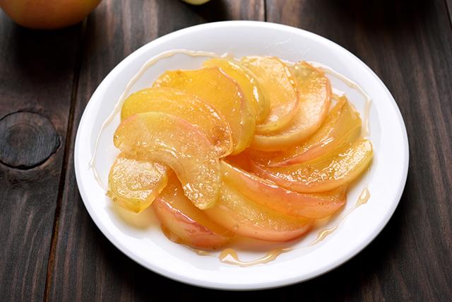 バターを使ったスイーツ『りんごのキャラメリゼ』をバター不使用で作りたい