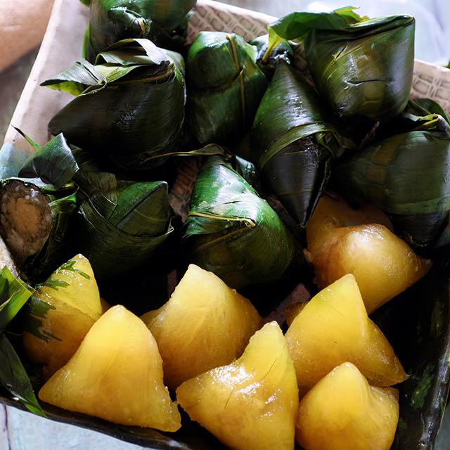 ベトナムのちまき(Bánh tro:バインチョー)