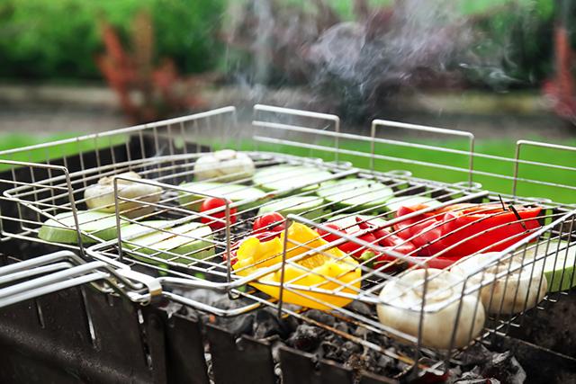 お野菜も「発酵BBQ(バーベキュー)」でおいしく楽しみましょう