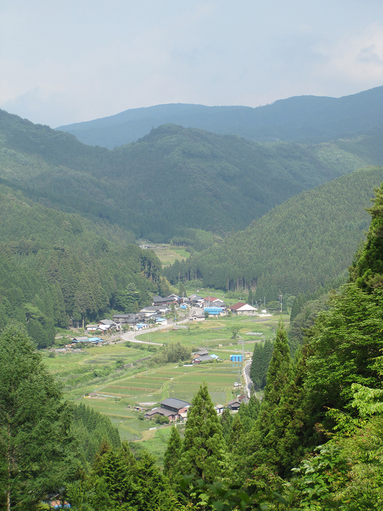 Asuke, deep in the mountains of Toyota city.