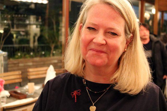Nancy Singleton Hachisu joined Sandor to bring extra vigour to the talk show.
