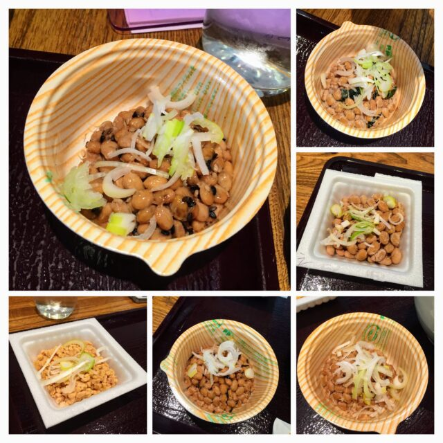 After I took all these photos of natto that I ate, I've forgotten which one was which. But trust me they were all delicious ok.
